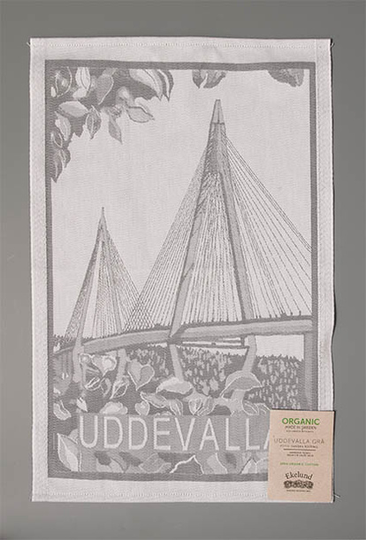Uddevalla bridge tea towel