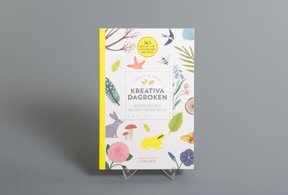 Creative diary, minfulness with nature as a source of power