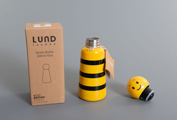 Bee thermos flask
