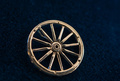 Travelling wheel pendant- the silver wheel