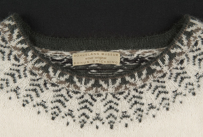 The Swan, pullover with 3/4-sleeves, knitting kit