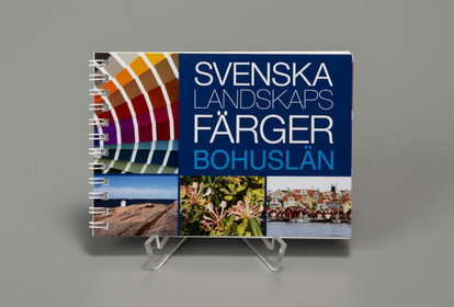 The Colours of Sweden´s Counties-Bohuslän, swedish and english text.