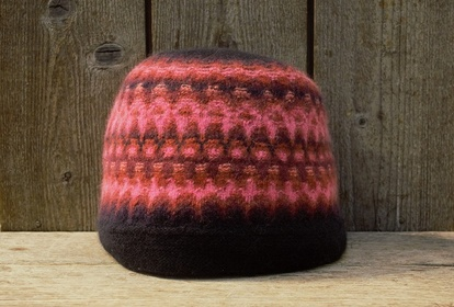 The New Azalea, hat or beret, knitting kit