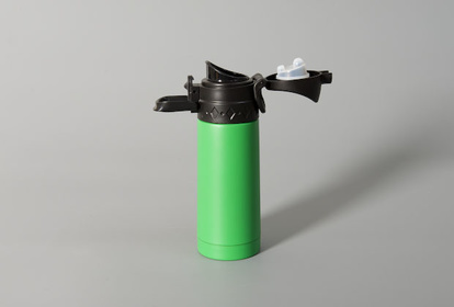 Thermos flask in green