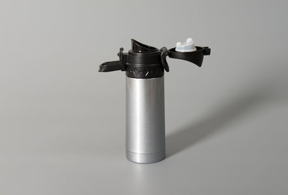 Thermos flask in grey